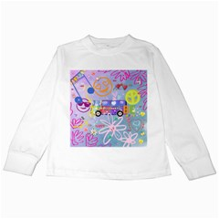 Summer Of Love   The 60s Kids Long Sleeve T Shirts