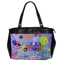Summer Of Love   The 60s Office Handbags by MoreColorsinLife