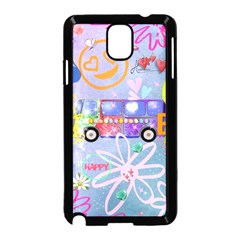 Summer Of Love   The 60s Samsung Galaxy Note 3 Neo Hardshell Case (black) by MoreColorsinLife