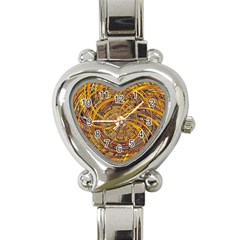 Happy Hot Heart Italian Charm Watch by MoreColorsinLife