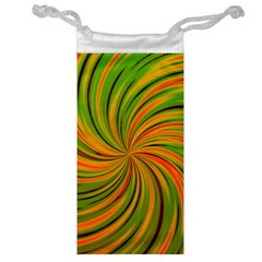 Happy Green Orange Jewelry Bags