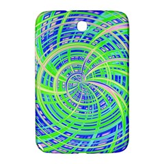 Happy Green Samsung Galaxy Note 8 0 N5100 Hardshell Case  by MoreColorsinLife