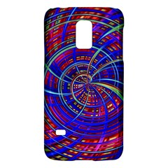 Happy Red Blue Galaxy S5 Mini by MoreColorsinLife