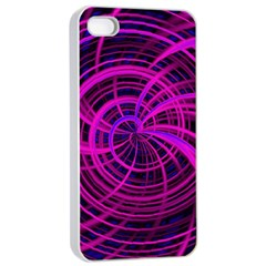 Happy, Black Pink Apple Iphone 4/4s Seamless Case (white)