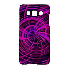 Happy, Black Pink Samsung Galaxy A5 Hardshell Case  by MoreColorsinLife
