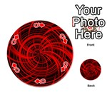 Happy, Black Red Playing Cards 54 (Round)  Front - DiamondQ