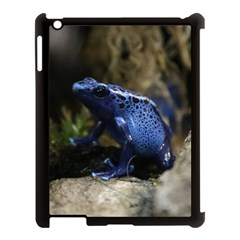 Blue Poison Arrow Frog Apple Ipad 3/4 Case (black) by stineshop