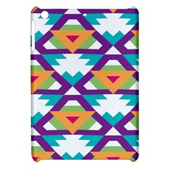 Triangles And Other Shapes Pattern Apple Ipad Mini Hardshell Case by LalyLauraFLM