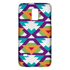 Triangles And Other Shapes Patternsamsung Galaxy S5 Mini Hardshell Case