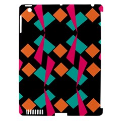 Shapes In Retro Colors  Apple Ipad 3/4 Hardshell Case (compatible With Smart Cover) by LalyLauraFLM
