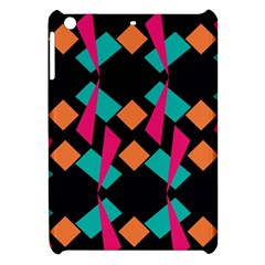Shapes In Retro Colors  Apple Ipad Mini Hardshell Case by LalyLauraFLM