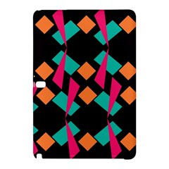 Shapes In Retro Colors 	samsung Galaxy Tab Pro 12 2 Hardshell Case by LalyLauraFLM