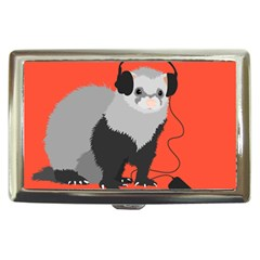 Funny Music Lover Ferret Cigarette Money Cases by CreaturesStore