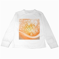 Wonderful Christmas Design With Sparkles And Christmas Balls Kids Long Sleeve T Shirts by FantasyWorld7