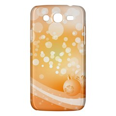 Wonderful Christmas Design With Sparkles And Christmas Balls Samsung Galaxy Mega 5 8 I9152 Hardshell Case  by FantasyWorld7