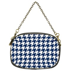 Houndstooth Midnight Chain Purses (two Sides)  by MoreColorsinLife