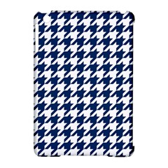 Houndstooth Midnight Apple Ipad Mini Hardshell Case (compatible With Smart Cover) by MoreColorsinLife