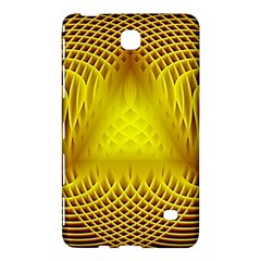 Swirling Dreams Yellow Samsung Galaxy Tab 4 (8 ) Hardshell Case  by MoreColorsinLife