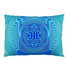 Swirling Dreams, Aqua Pillow Cases