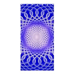 Swirling Dreams, Blue Shower Curtain 36  X 72  (stall)