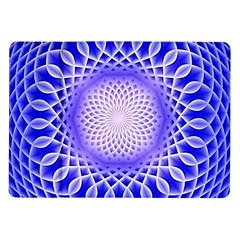 Swirling Dreams, Blue Samsung Galaxy Tab 10 1  P7500 Flip Case by MoreColorsinLife