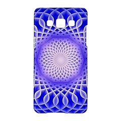 Swirling Dreams, Blue Samsung Galaxy A5 Hardshell Case