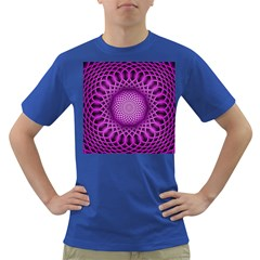 Swirling Dreams, Hot Pink Dark T Shirt by MoreColorsinLife
