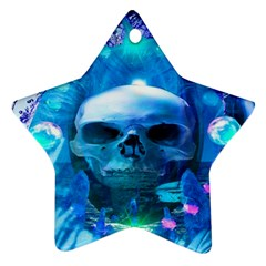 Skull Worship Star Ornament (two Sides)  by icarusismartdesigns