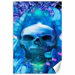 Skull Worship Canvas 24  X 36  by icarusismartdesigns