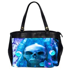 Skull Worship Office Handbags (2 Sides)  by icarusismartdesigns