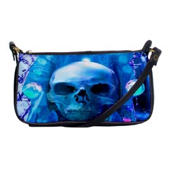 Skull Worship Shoulder Clutch Bags by icarusismartdesigns