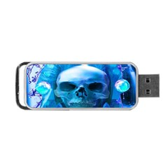Skull Worship Portable Usb Flash (one Side) by icarusismartdesigns
