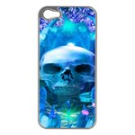 Skull Worship Apple iPhone 5 Case (Silver) Front