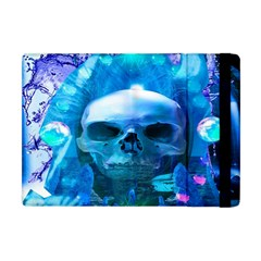Skull Worship Apple Ipad Mini Flip Case by icarusismartdesigns