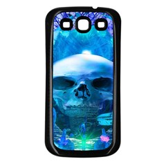 Skull Worship Samsung Galaxy S3 Back Case (black) by icarusismartdesigns
