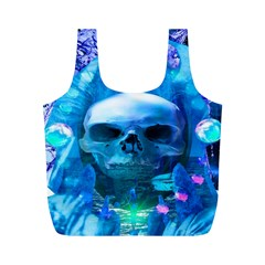 Skull Worship Full Print Recycle Bags (m)  by icarusismartdesigns