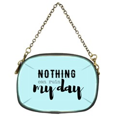 Nothing Can Ruin My Day Chain Purse (two Sided)  by maemae