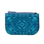 Magic Flying Carpet: Blue Version Coin Change Purse Front