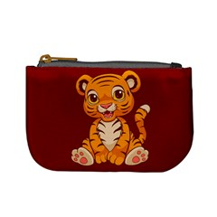 Little Tiger Coin Change Purse by Ellador