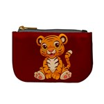 Little Tiger Coin Change Purse Front