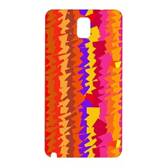 Colorful Pieces Samsung Galaxy Note 3 N9005 Hardshell Back Case by LalyLauraFLM
