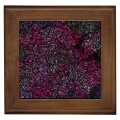 Fantasy City Maps 1 Framed Tiles