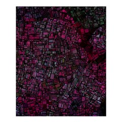 Fantasy City Maps 1 Shower Curtain 60  X 72  (medium)