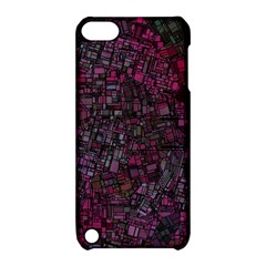 Fantasy City Maps 1 Apple Ipod Touch 5 Hardshell Case With Stand by MoreColorsinLife