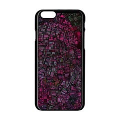 Fantasy City Maps 1 Apple Iphone 6/6s Black Enamel Case