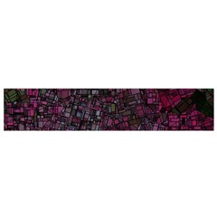 Fantasy City Maps 1 Flano Scarf (small)  by MoreColorsinLife