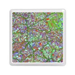 Fantasy City Maps 2 Memory Card Reader (square)  by MoreColorsinLife