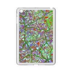Fantasy City Maps 2 Ipad Mini 2 Enamel Coated Cases by MoreColorsinLife