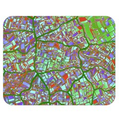 Fantasy City Maps 2 Double Sided Flano Blanket (medium)  by MoreColorsinLife