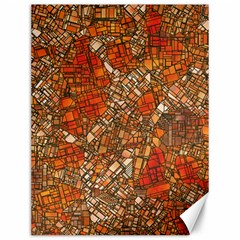 Fantasy City Maps 3 Canvas 12  X 16   by MoreColorsinLife